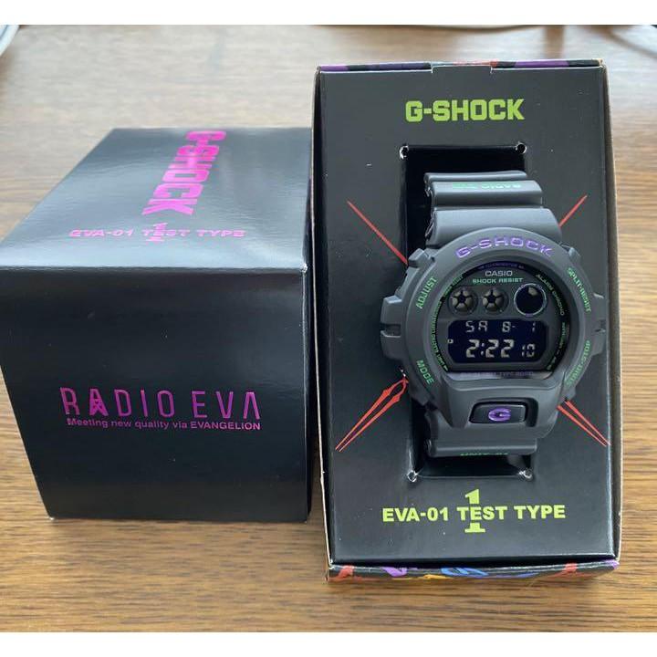 特價 現貨 聖誕節 禮物 EVA CASIO 福音戰士 G-SHOCK 手錶 25周年限定版 DW-6900 預購