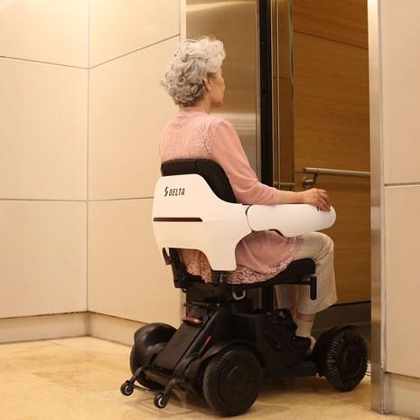 🎉電動手推車🎉蜂鳥A1電動輪椅車智能全自動折疊輕便老人老年殘疾代步車