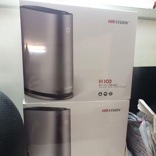 海康威視個人雲端H100 +2.5吋2TB@2 搭配 海康C6CN 720P攝像監控套餐