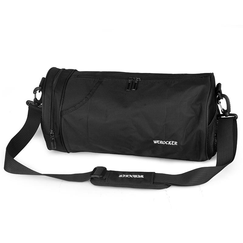 健身包 運動健身包男圓筒斜挎包房小號手提訓練包女籃球背包桶包裝備