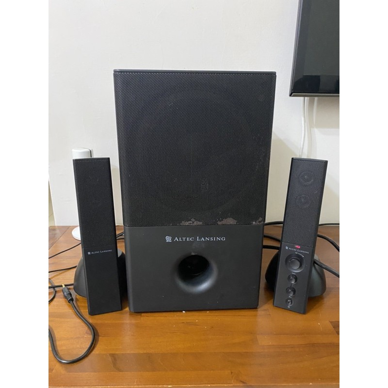 ALTEC LANSING VS4121 2.1聲道喇叭