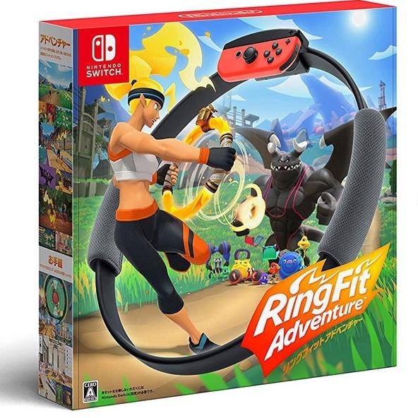 【NeoGamer】全新現貨 NS Switch 健身環大冒險 中文版 綁帶 環 遊戲片 三個都有 日或歐版封面