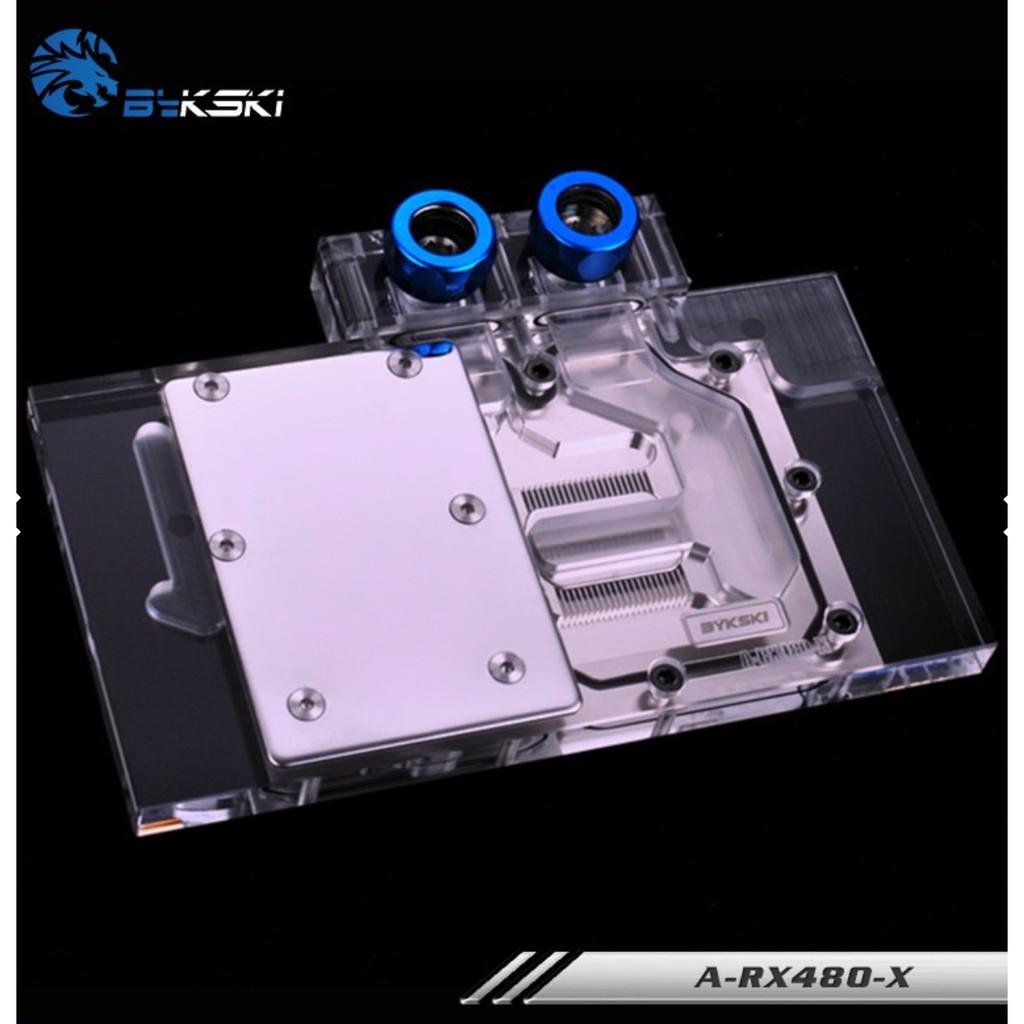 BYKSKI  RX480 .AMD 公版RX480 RX470全覆蓋水冷頭 現貨