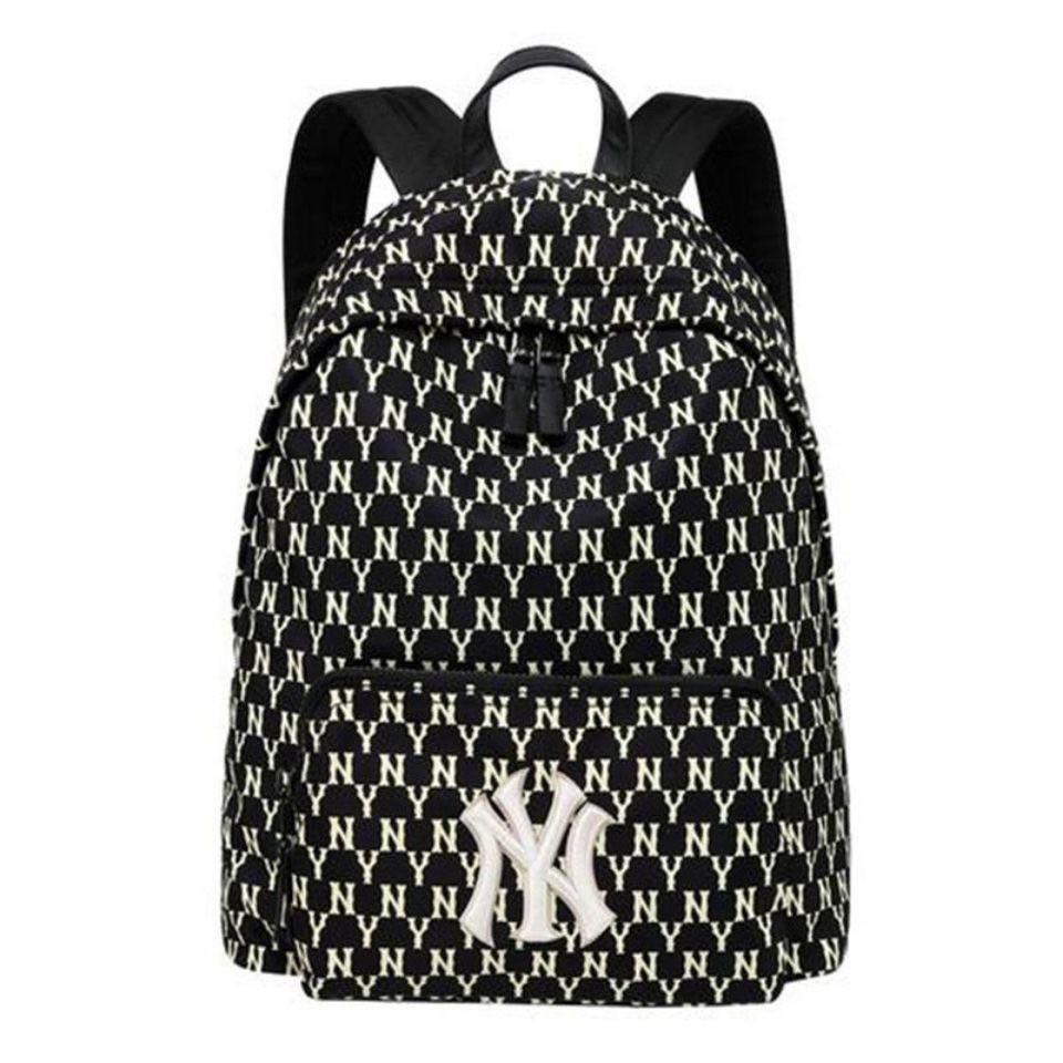 MLB NY 洋基隊 滿版字母 背包 小背包 後背包 雙肩包 MONOGRAM mlb書包
