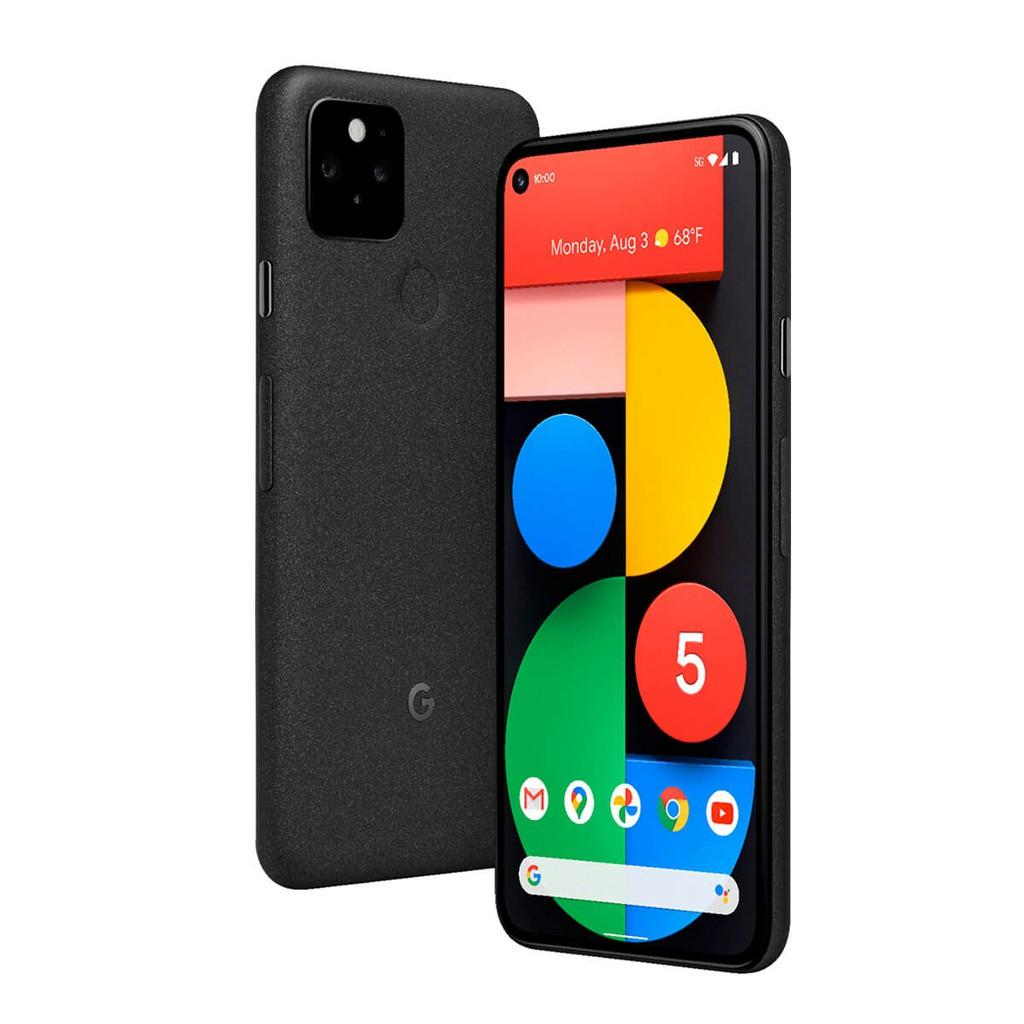 Google Pixel 5 黑 8GB/128GB 5G手機 Qi無線充電 無線電力分享[台灣公司貨]