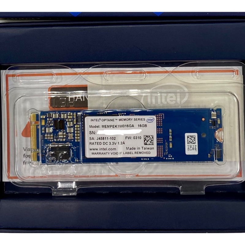 Intel® Optane™ Memory 16G