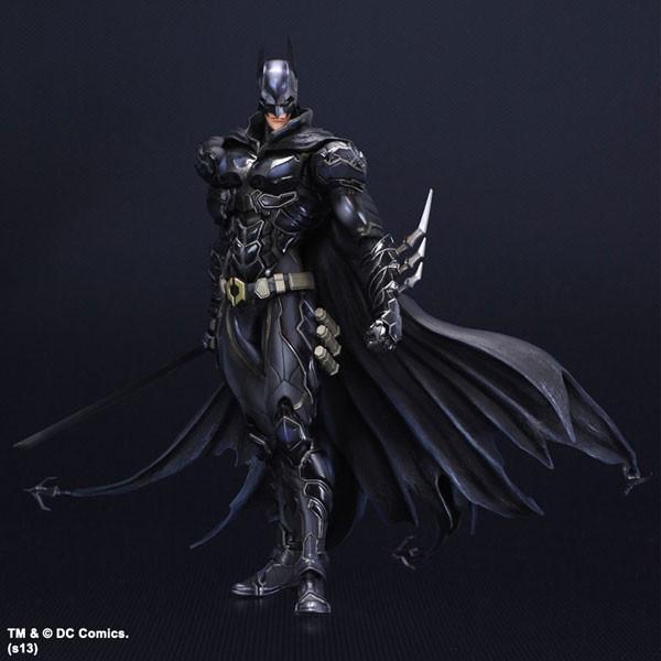 【可動】【多米諾DOMINO】 Play arts 蝙蝠俠 BATMAN PA改 超級英雄 DC英雄  藍黑限定版
