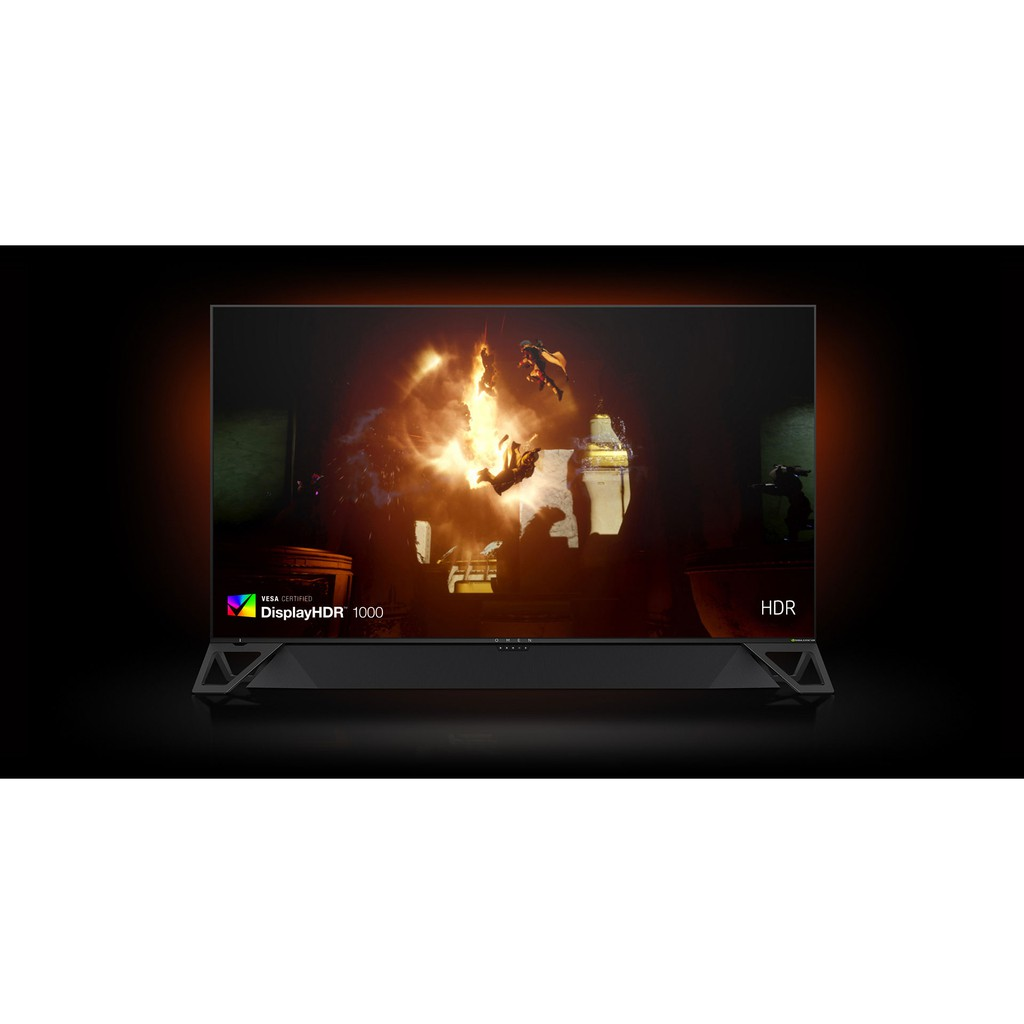 出售 二手 HP Omen X 65 Emperium 電競螢幕 65吋 4K 144HZ G-SYNC HDR1000