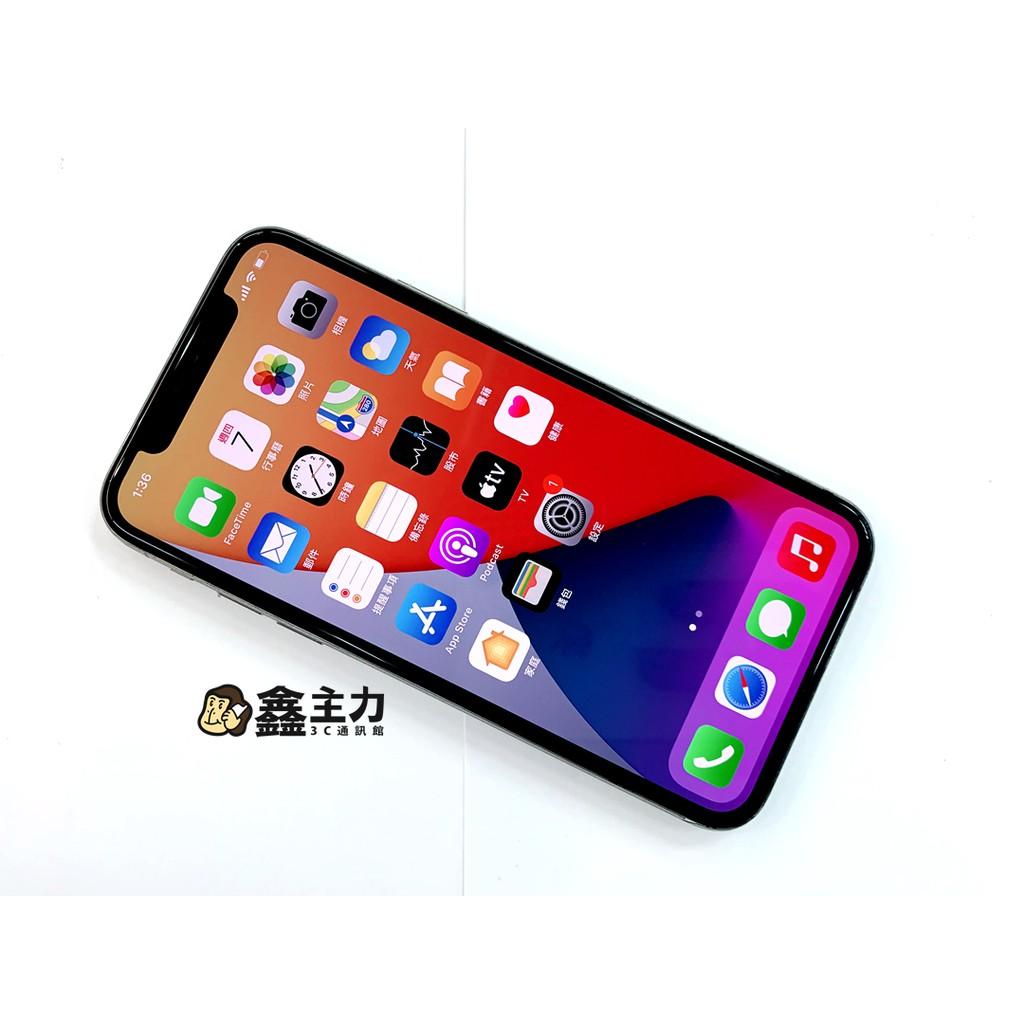 ☆鑫主力3C通訊 二手 iPhone X IX 64G 白 機況極新 功能正常 背面有包膜