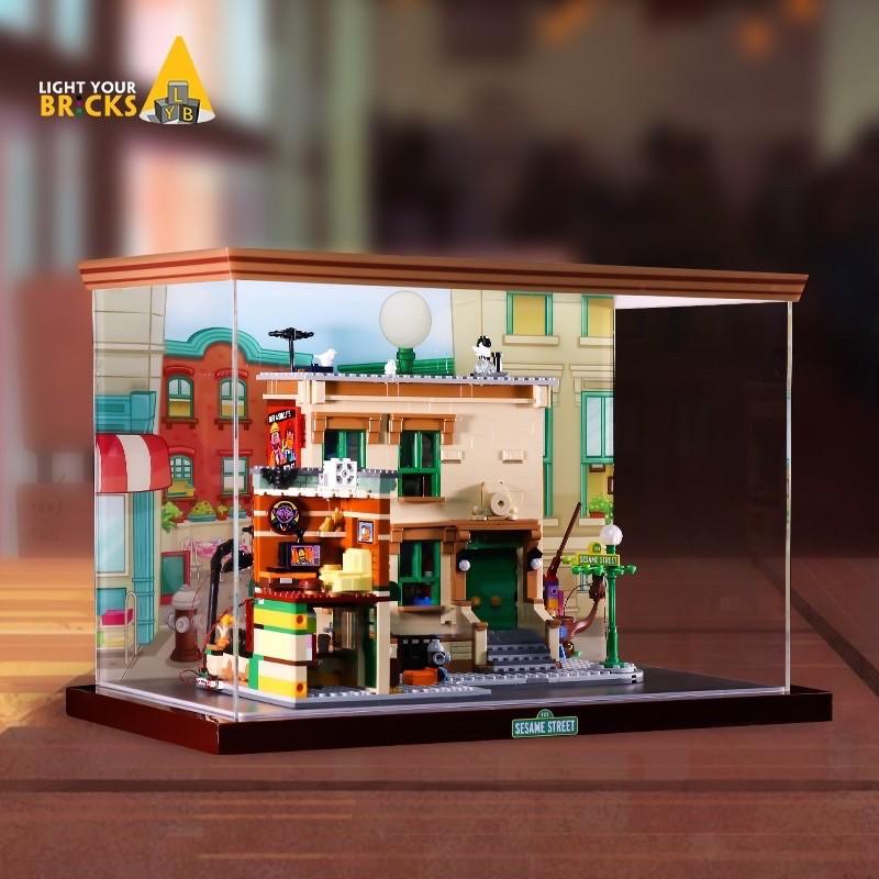 LYB展示盒/樂高21324芝麻街/現貨