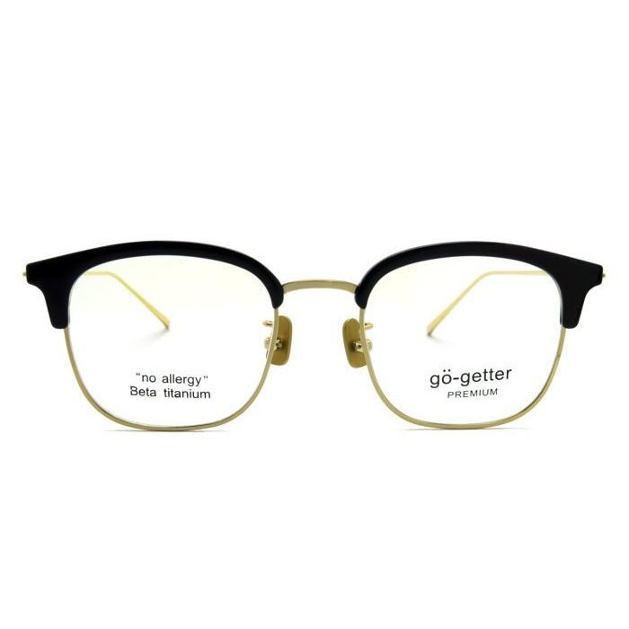 go getter 眼鏡 GO 3015 C2 (黑/金) 光學鏡框【原作眼鏡】