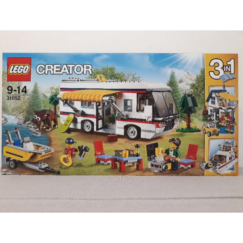 LEGO 31052 CREATOR 創意三合一系列 度假露營車